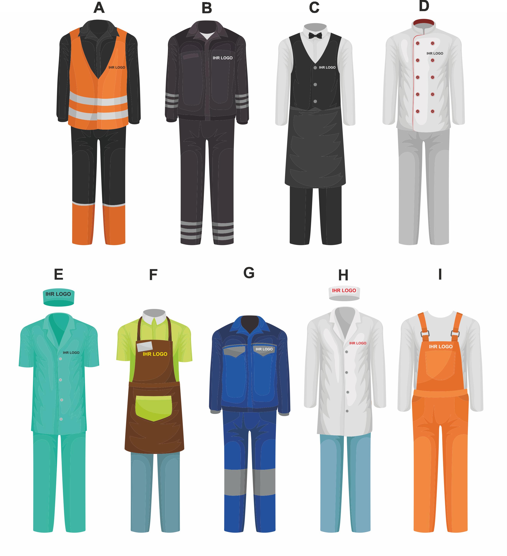 Bild Berufsbekleidung Textildruck koeln